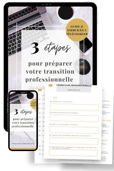 Guide transition professionnelle - aureliefoucart.com